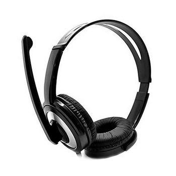 Headphone Com Microfone DEX DF-55 USB 2.0 Preto