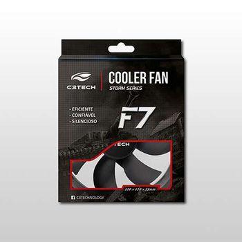 Cooler FAN C3 Tech F7-50 BK Storm 8cm