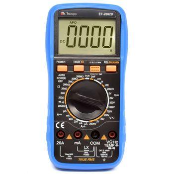 Multímetro digital CAT III - ET-2082D - Minipa