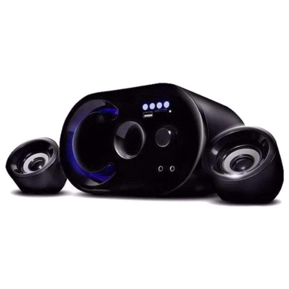 Caixa de Som c/ Subwoofer 2.1 16 Watts Rms Usb/SD/Bluetooth Infokit VC-G300BT