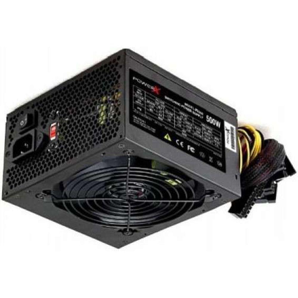 Fonte PowerX 500W Real PX500 (Com Cabo de Força)