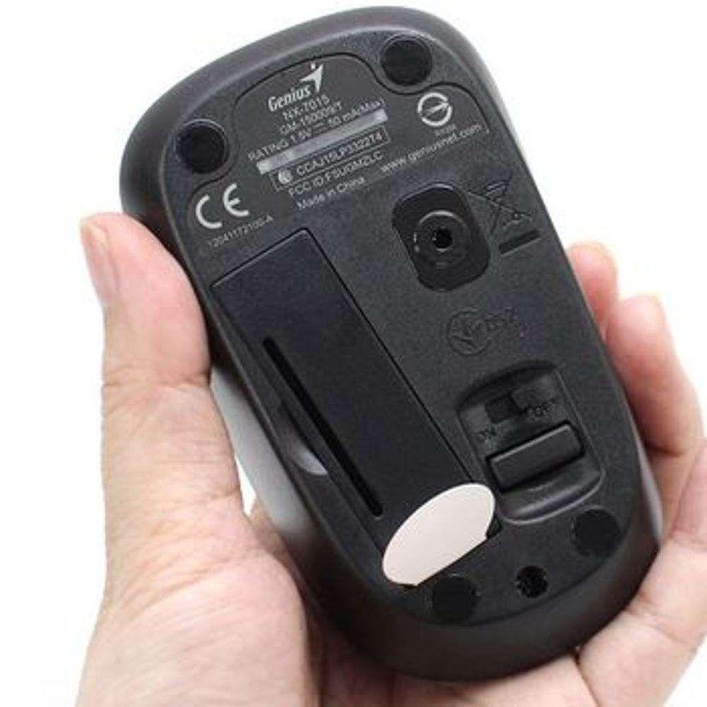 Mouse Genius Wireless NX-7015 Iron Grey 2,4Ghz 1600Dpi - 31030119106