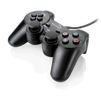 Controle Multilaser Dualshock Preto PC JS030