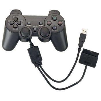 Controle Multilaser Dualshock PS3/PS2/PC JS071