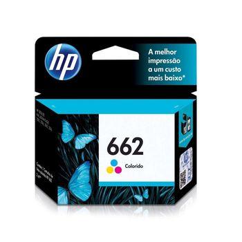 Cartucho de Tinta HP 662 CZ104AB Color 2 ml