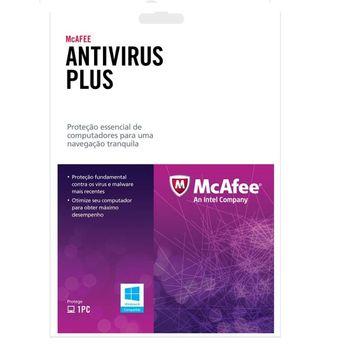 Antivirus McAFEE Plus 1 Usuário