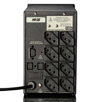 Nobreak NHS Compact Plus III (1200VA C/ 2 Bat. 7Ah) - 90.C0.01200