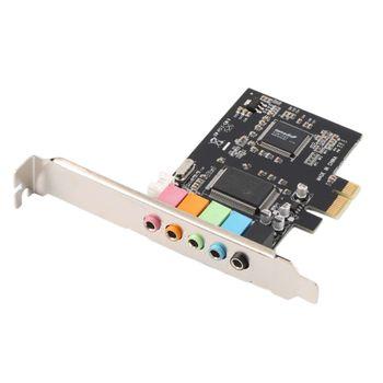 Placa de Som PCI-Express com 5 Canais