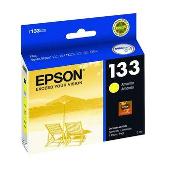 Cartucho de Tinta Epson T133420-Br Amarelo 5 ml
