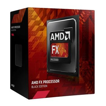 Processador AMD FX 8320E Octa Core, Black Edition, 3.2GHz 16MB AM3+ FD832EWMHKBOX