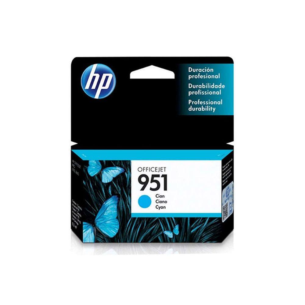 Cartucho de Tinta HP OfficeJet 951 CN050AB 8,5 ml Ciano