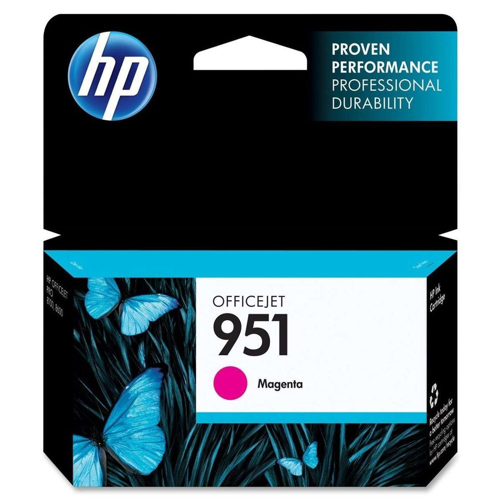 Cartucho de Tinta HP OfficeJet 951 CN051AB Magenta 8 ml