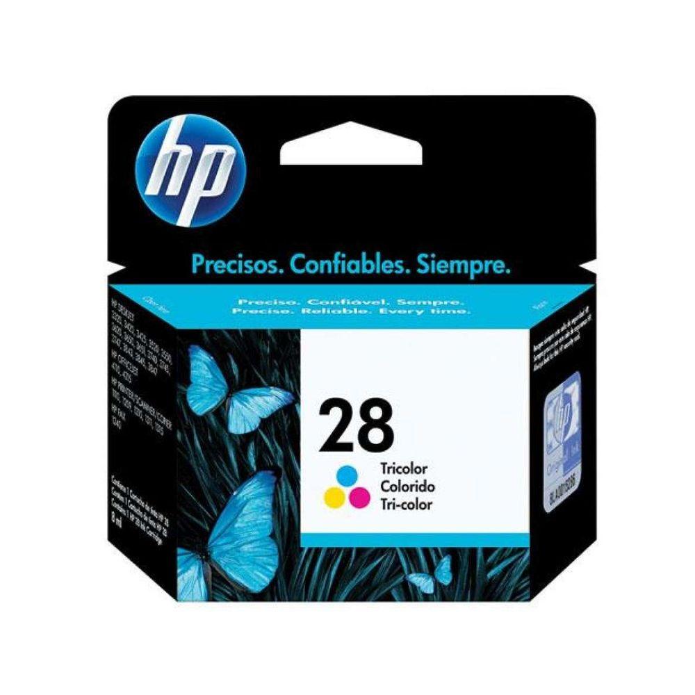 Cartucho de Tinta HP 28 C8728AB Color 8ml