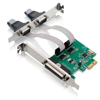Placa Pci Express com 2 Serial e 1 Paralela