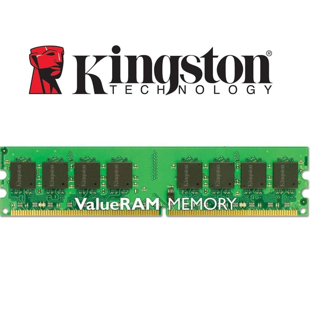 Memória Kingston Desktop DDR3 2GB 1333Mhz CL9 Dimm KVR13N9S6/2