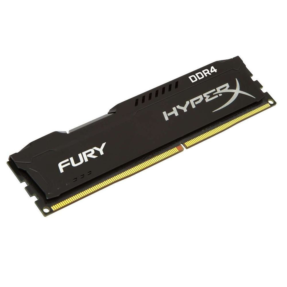 Memória Kingston HyperX FURY DDR4 4GB 2133Mhz CL14 Black Series - HX421C14FB/4