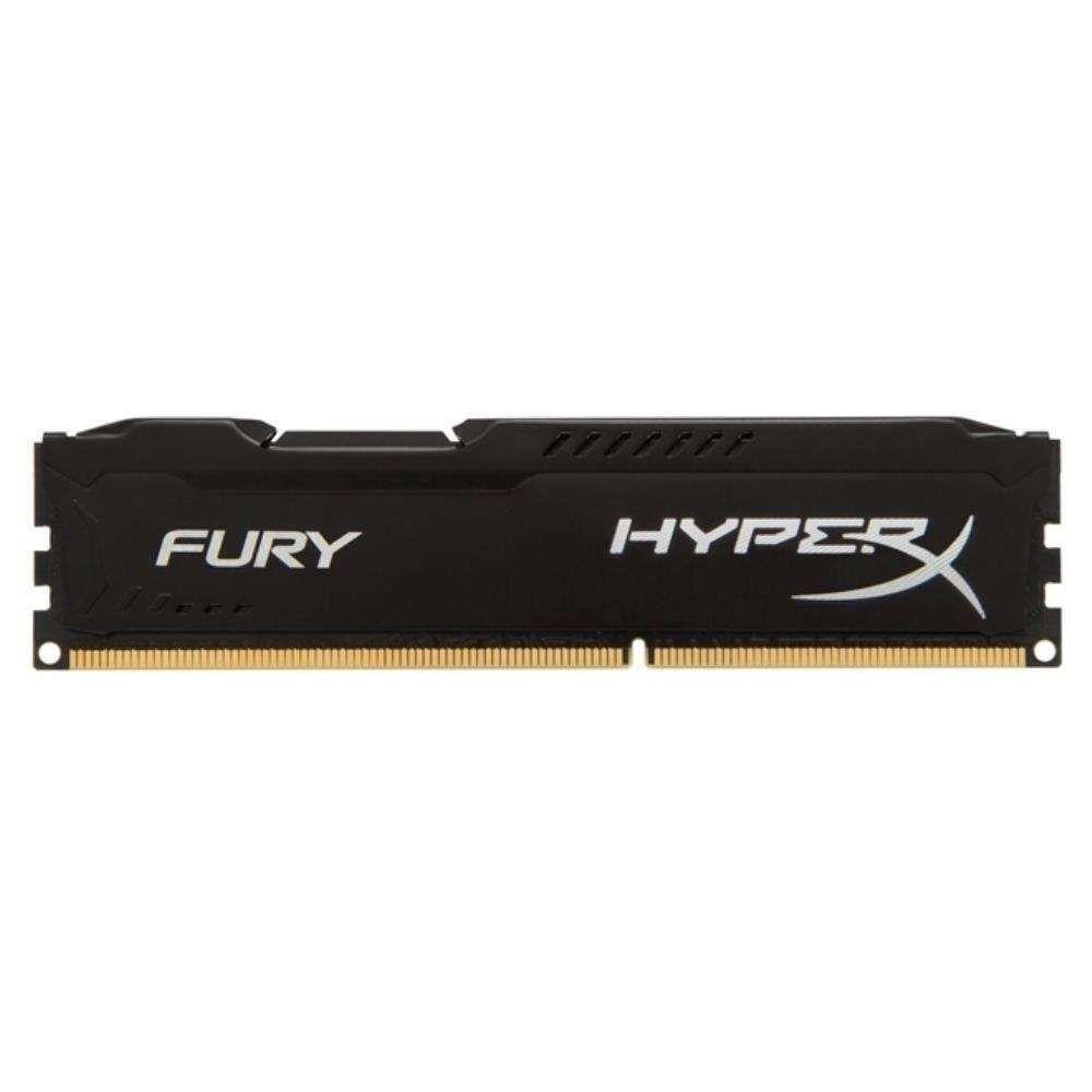 Memória Kingston HyperX FURY DDR3 8GB 1600Mhz CL10 Black Series - HX316C10FB/8