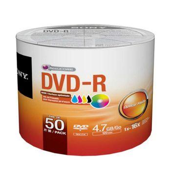 Midia Dvd-R Printable Sony 120 Min 4.7gb 16x 50DMR47FBZ2LA