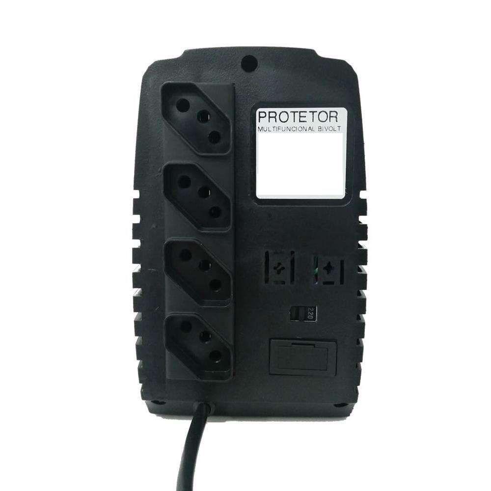Protetor Energy Lux 500VA Bivolt Preto
