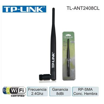 Antena Wireless 8dBi 2.4Ghz Omni TP-Link TL-ANT2408CL