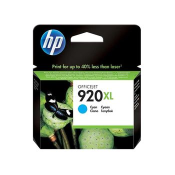 Cartucho de Tinta HP 920XL CD972AL Ciano 7,5 ml