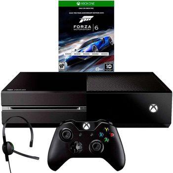 Console Xbox One 500GB Edição Especial + Jogo Forza Motorsport 6 (Via Download) + Headset