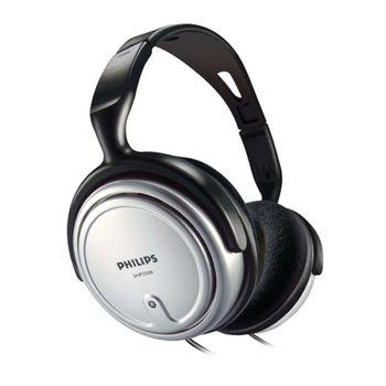 Headphone Philips Stereo TV SHP2500/10 Prata
