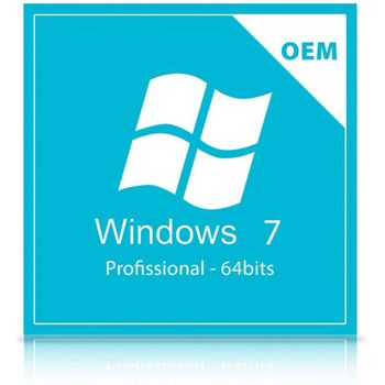 Microsoft Windows 7 Pro 64 Bits Pt-Br Oem Dvd FQC-08286
