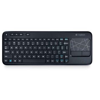 Teclado Wireless com Mouse Touch Logitech K400R