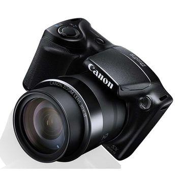 Câmera Digital Canon PowerShot SX400 IS 16MP, LCD 3´Preta