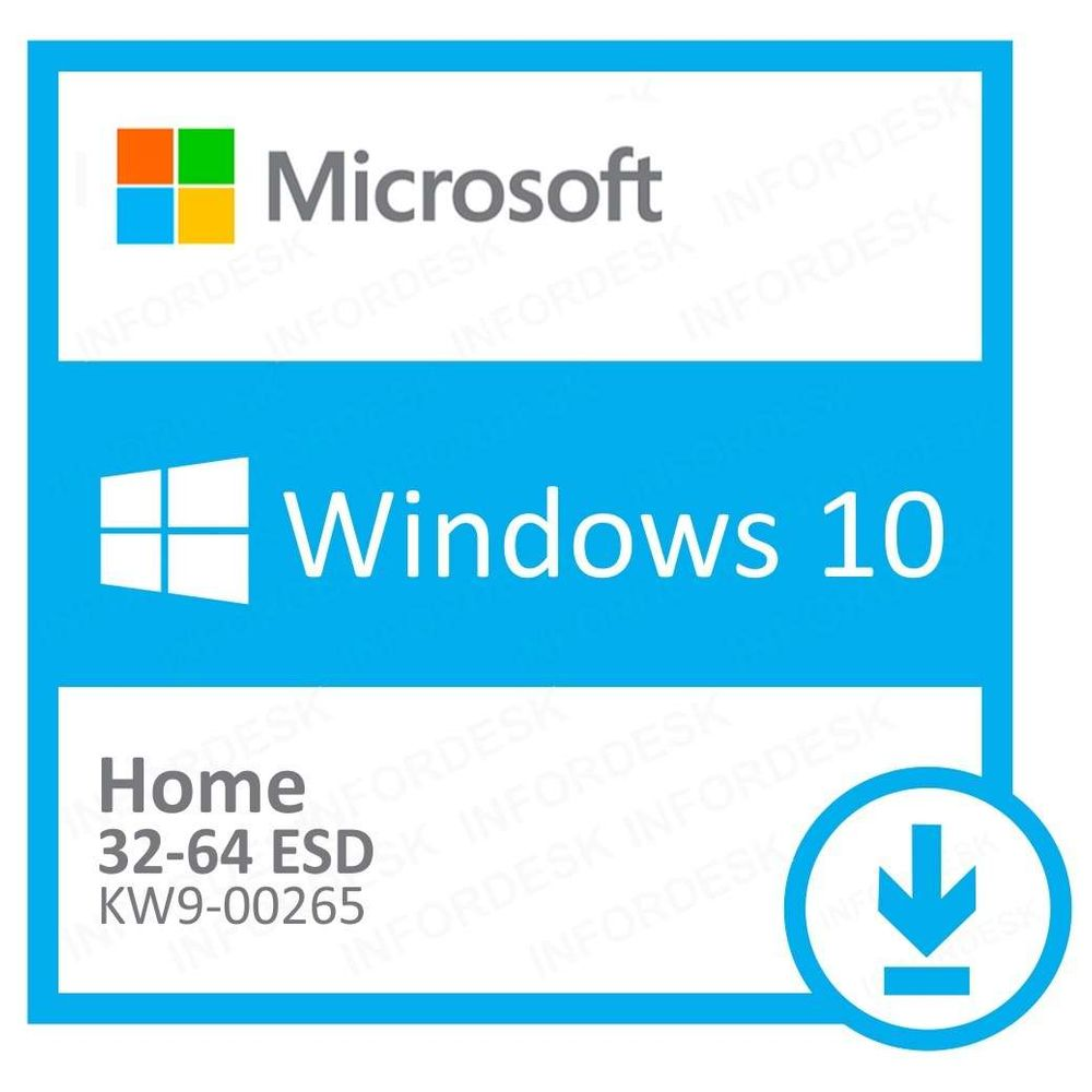 Microsoft Windows 10 Home 32/64 Bits ESD KW9-00265 - Digital Download