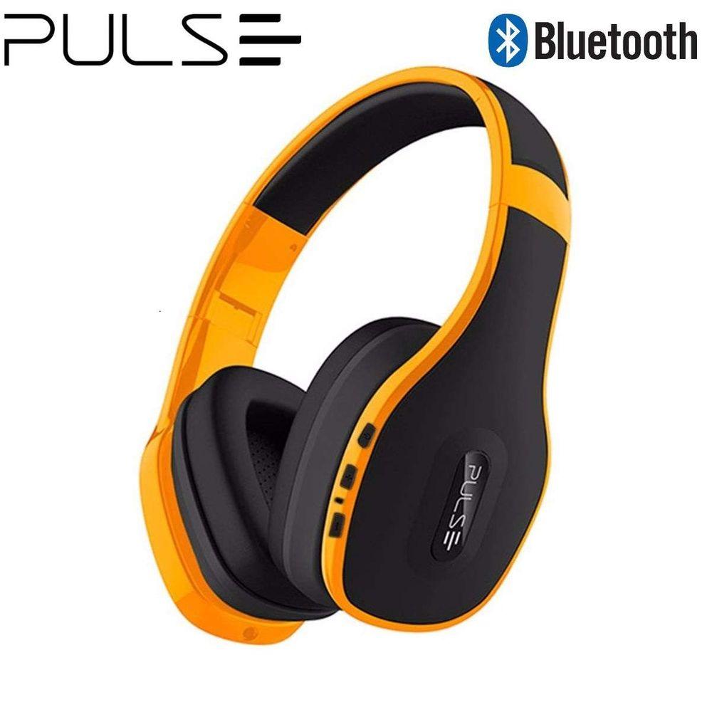 Headphone Multilaser Pulse Bluetooth Amarelo Com Microfone - PH151