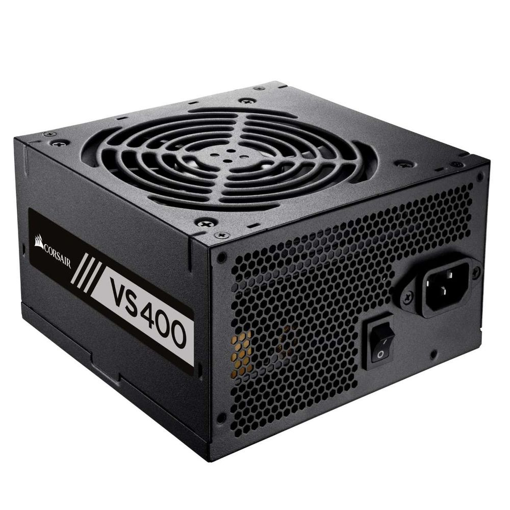 Fonte Corsair 400W 80Plus White VS400 Bivolt Automatico - CP-9020117-LA