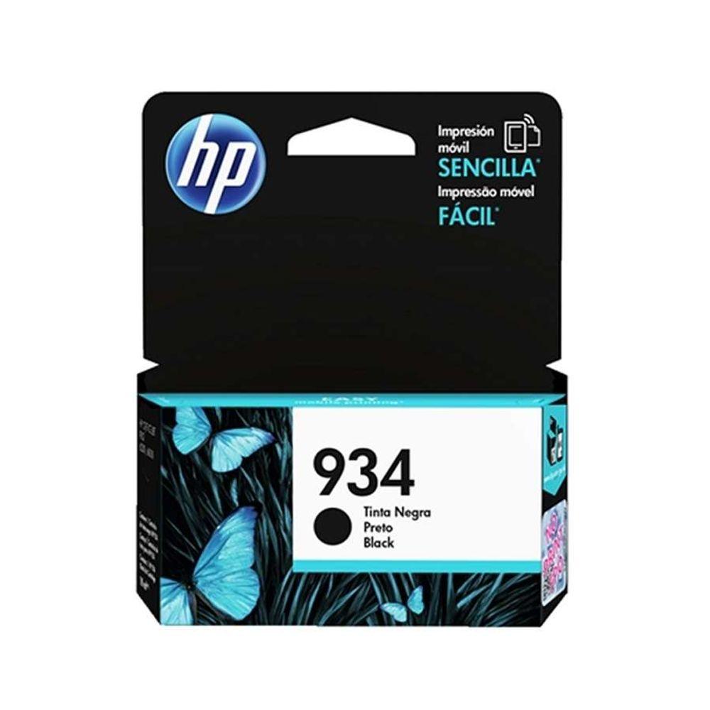 Cartucho de tinta HP 934 C2P19AL Preto 10ml