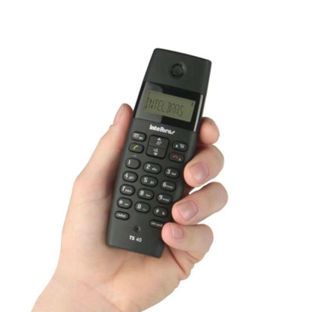Telefone Intelbras S/Fio TS40C Combo C/ Ramal 6.0