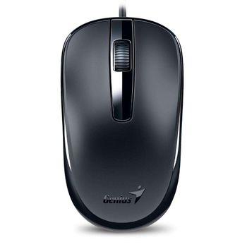 Mouse Óptico Genius DX-120 USB Preto