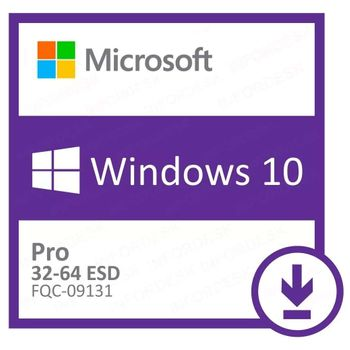 Microsoft Windows 10 Pro 32/64 Bits ESD FQC-09131 - Digital Download