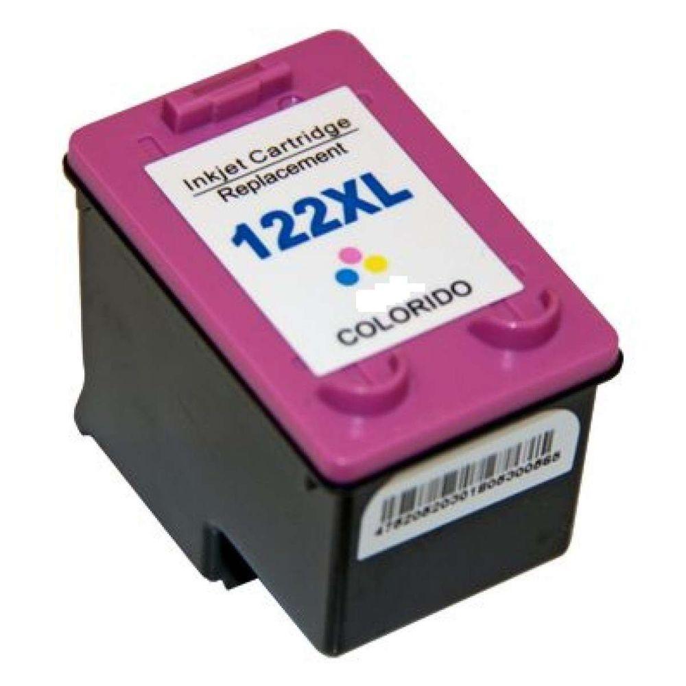 Cartucho de tinta Compativel HP 122XL CH563HB Color 18 ml