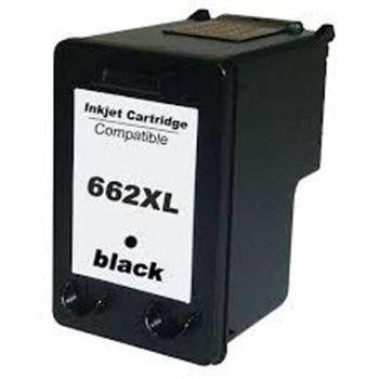 Cartucho de Tinta Compativel HP 662XL CZ105AB Preto 22 ml