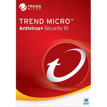 Antivírus Trend Micro Internet+ Security 10 1pc 1 Ano