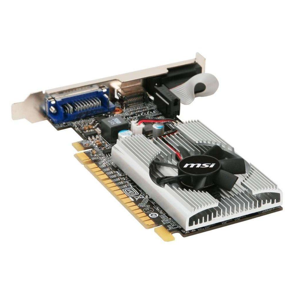 Placa de Vídeo MSI GeForce GT 210 1GB DDR3 64Bits - N210-MD1G/D3