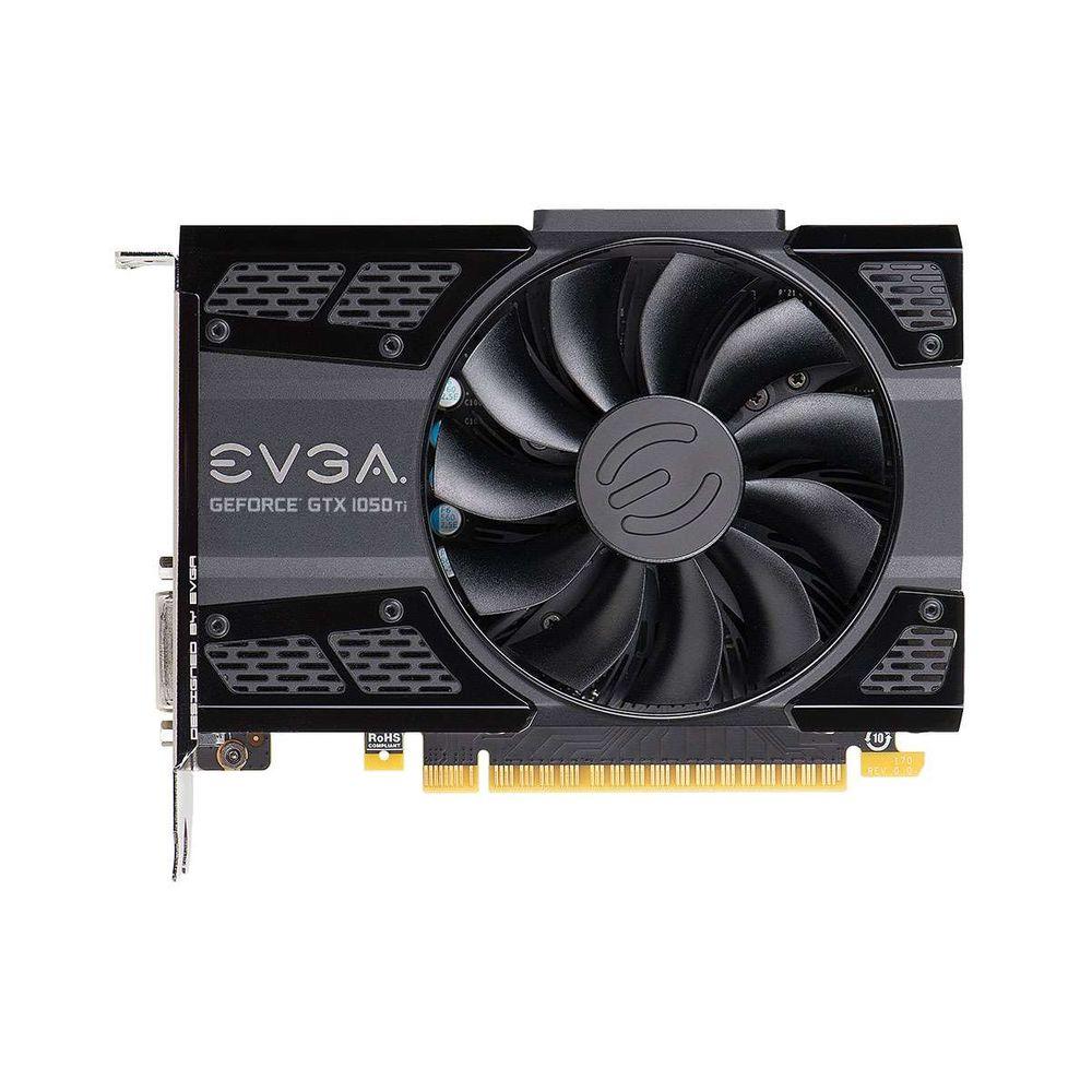 Placa de Vídeo eVGA GeForce GTX 1050TI Garming 4GB DDR5 128 Bits - 04G-P4-6251-KR