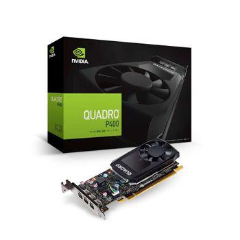Placa de Vídeo NVIDIA PNY Quadro P400 2GB DDR5 64Bits 256 Cuba Cores - VCQP400-PORPB