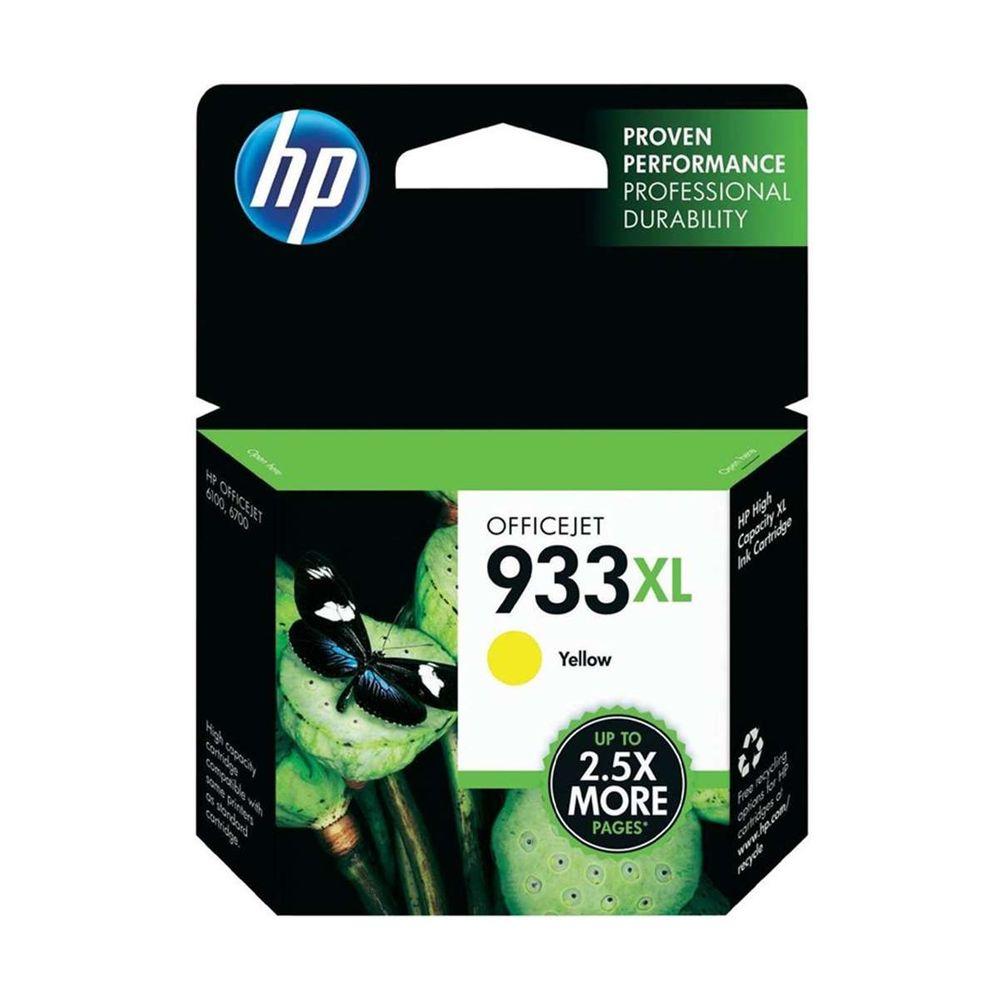 Cartucho de Tinta HP 933XL Amarelo - CN056AL 8,5ml