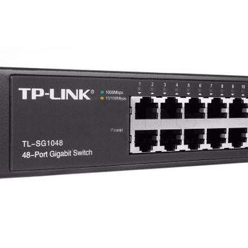 Switch 48 Portas Giga TP-Link 10/100/1000 Rack - TL-SG1048