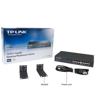 Switch 16 Portas Giga TP-Link 10/100/1000 - TL-SG1016D
