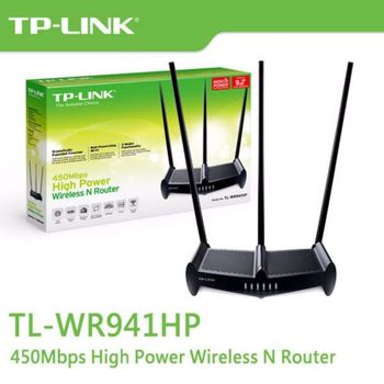 Roteador Wireless N 450Mbps de Alta Potência 1000W TL-WR941HP