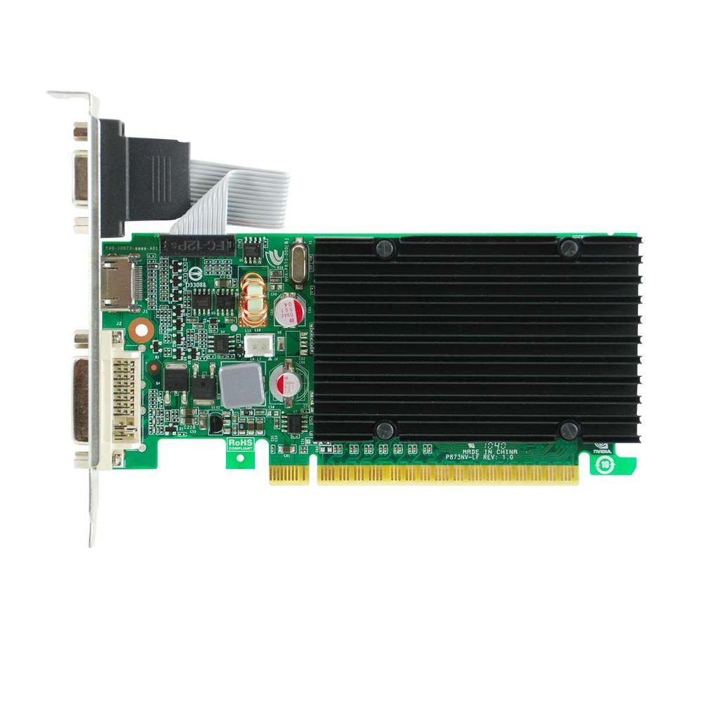 Placa de Vídeo eVGA GeForce GT 210 1GB DDR3 64 Bits - 01G-P3-1313-KR