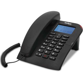 Telefone Itelbras TC 60 ID com Fio e identificação de chamadas Preto