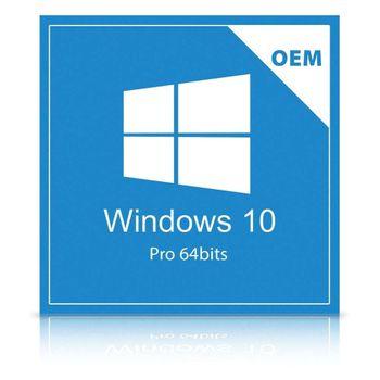 Microsoft Windows 10 Pro 64 Bits Pt-Br Oem Dvd FQC-08932